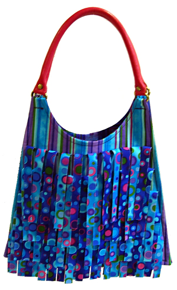 Hippie bag - Blank Quilting, Tribeca, Turquoise colorway