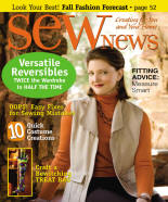Sew News cover Oct 2006