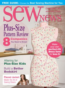 Sew News August 2006 Giving Back column