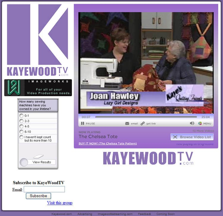 Kaye Wood TV.com 2