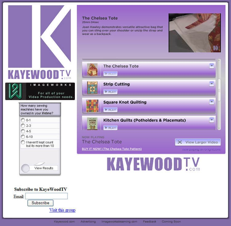 Kaye Wood TV.com