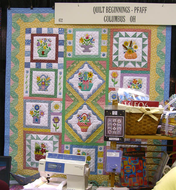 NQA Show: Beautiful Quilts, Great Buttons, Munchies and More ... : quilt beginnings columbus - Adamdwight.com