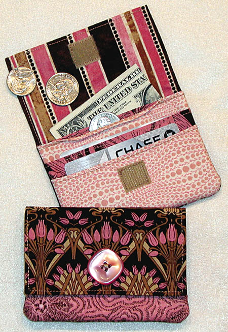 Wonder Wallet Pattern Gets A New Cover Girl - Lazy Girl Designs