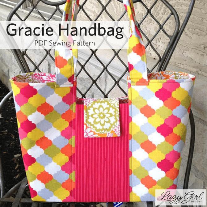 Gracie Handbag sewing pattern.