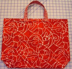 Lay bag flat