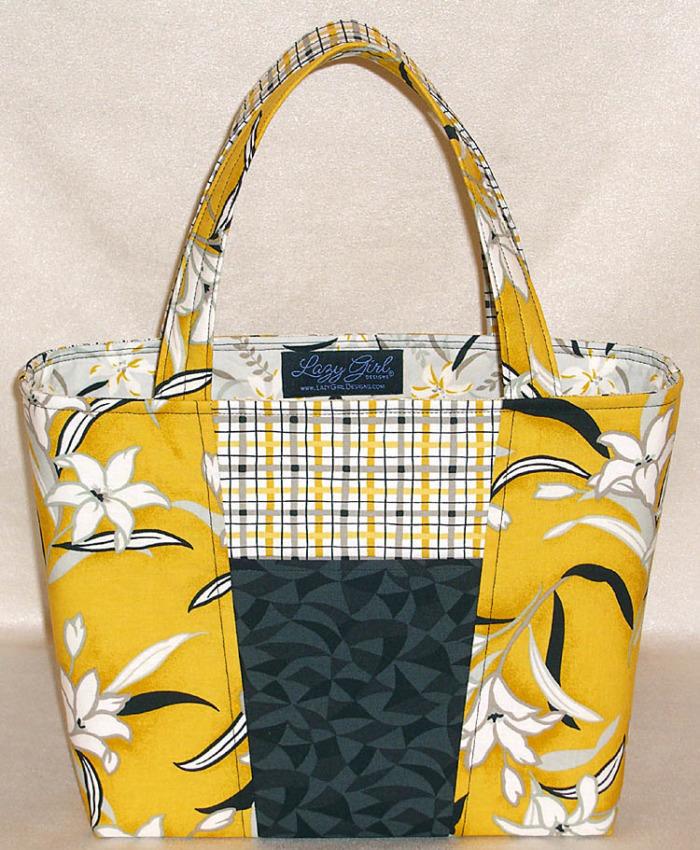 Choosing Fabrics To Accent A Bag Design