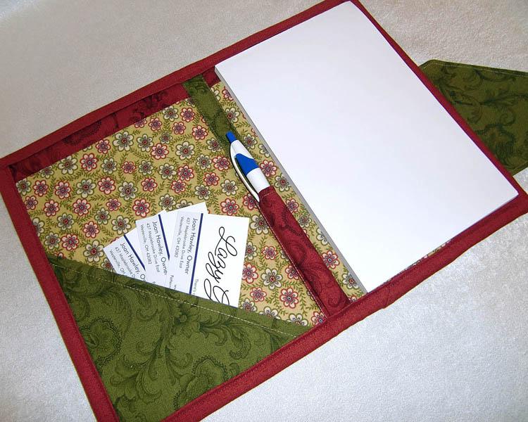 Lazy Girl Designs » Nancy Zieman Tablet KeeperPaper Pad Keeper