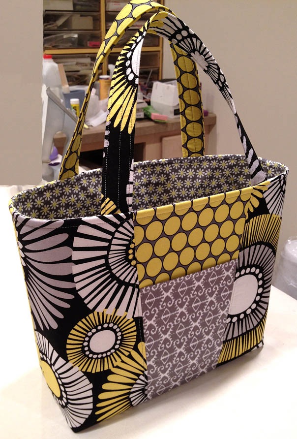 How To Make Small Bags With Fabric