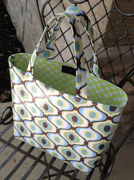 New Pattern Slicker Tote Coming Soon Lazy Girl Designs