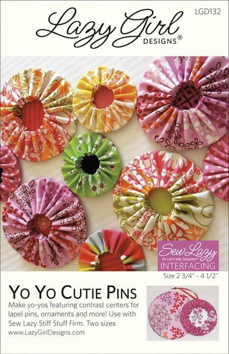 Free Pattern Yo Yo Cutie Pins Are Pin Tastic Lazy Girl Designs