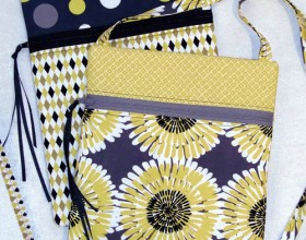 Runaround Bag by Lazy Girl Designs