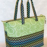 Summer Tote by Lazy Girl Designs