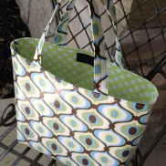 Slicker Tote by Lazy Girl Designs