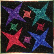 Galaxy Quilt by Lazy Girl Designs