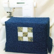 Sewing Machine Cover by Lazy Girl Designs