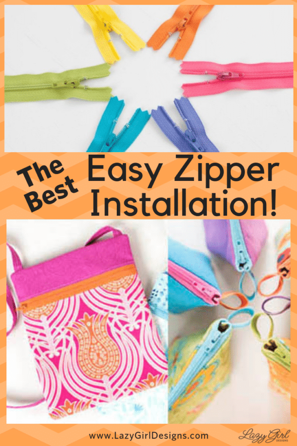 easy zipper installation