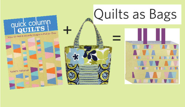 Quilts as bags