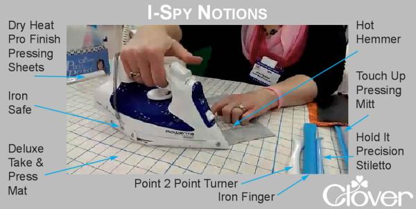 I spy notions Press Perfect