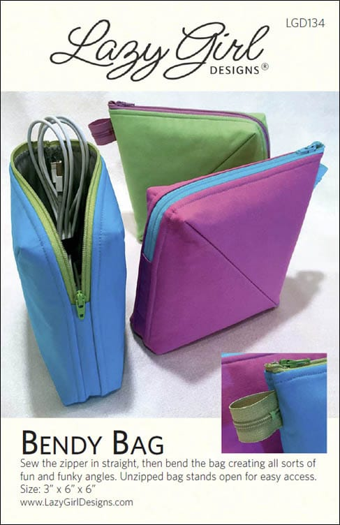 Bendy Bag pattern cover.