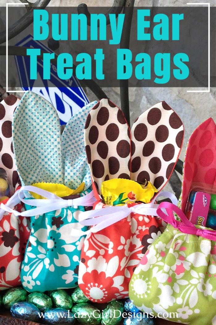 Free Tutorial: Easter Bunny Ear Treat Bag