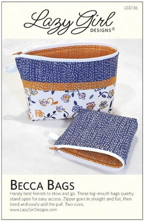 Becca Bags pattern LGD136 from #LazyGirlDesigns