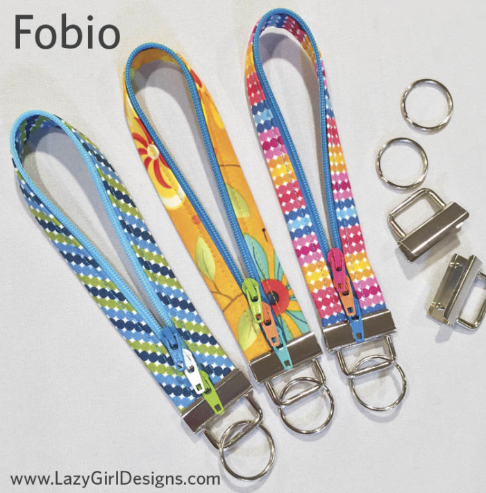 Fobio Key Fob pattern LGD137 by Lazy Girl Designs