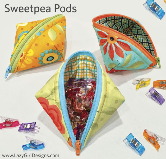 Sweetpea Pods pattern LGD135 from #LazyGirlDesigns