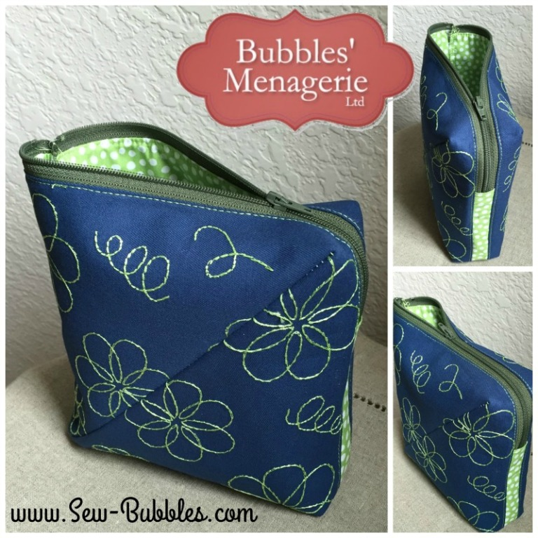 Embroidery Can Transform Your Bag Creations - Lazy Girl Designs
