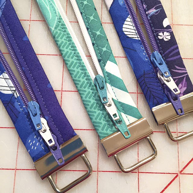 Add Key Fob Hardware to the Fobio Badge Lanyards for a beautiful finish. #LazyGirlDesigns
