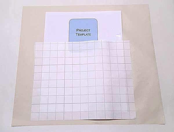use paper backing as pressing sheet when fusing
