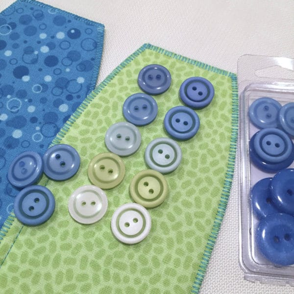 Audition buttons for your sewing project