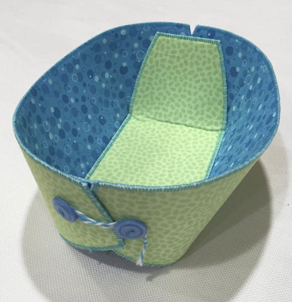 Button Boat DIY project from Lazy Girl Designs