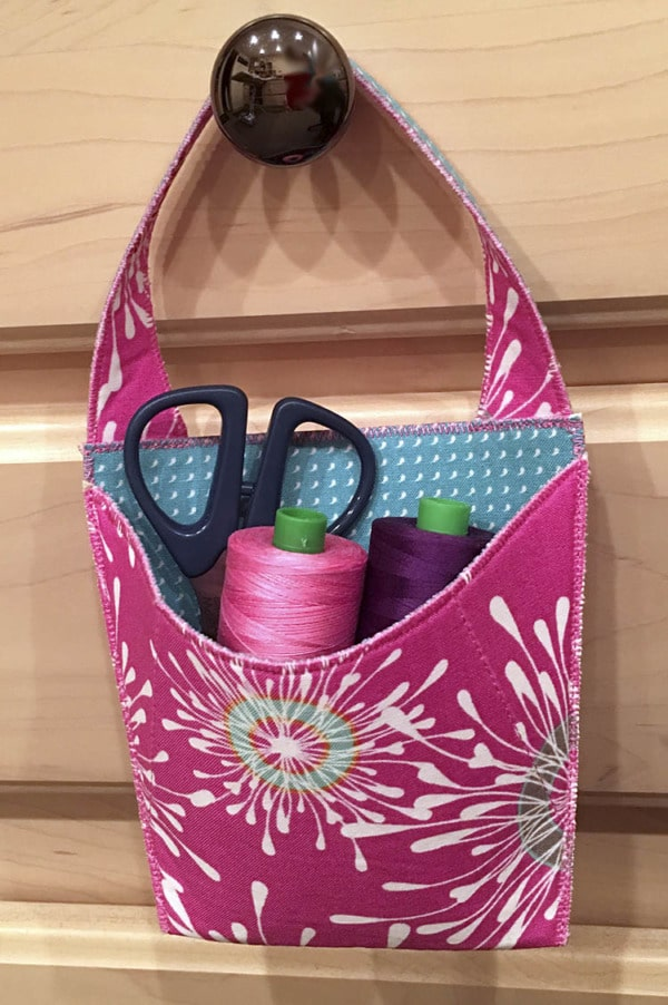 quick organizers to sew