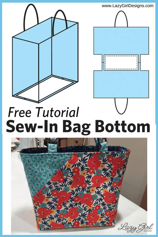 Free Tutorial: Easy Sew-In Bag Bottom Support