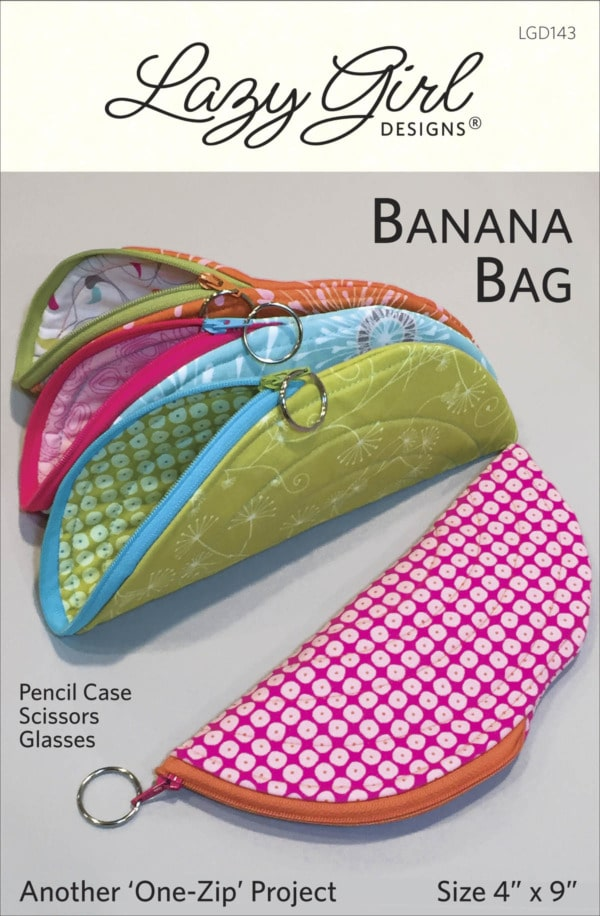 Banana Bag sewing pattern from Lazy Girl Designs item LGD