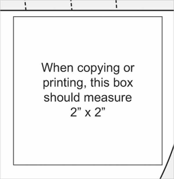 verification print graphic