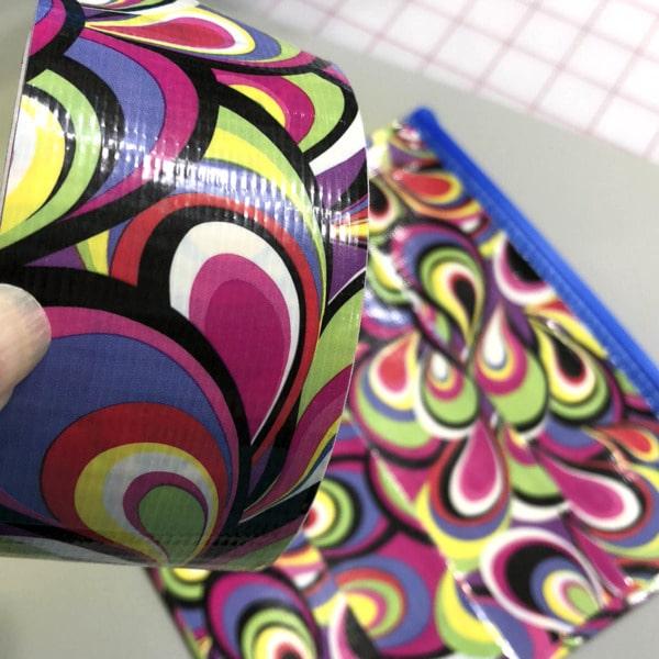 duct tape zip bags