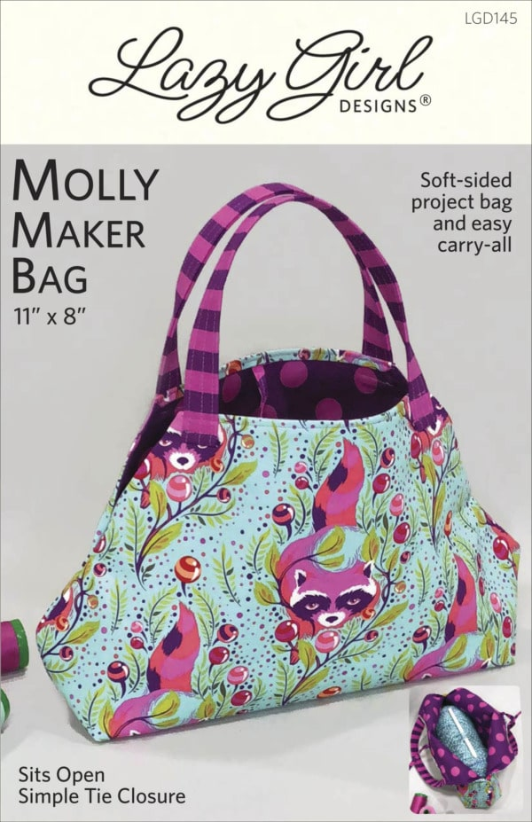 Molly Maker Bag DIY sewing pattern front cover