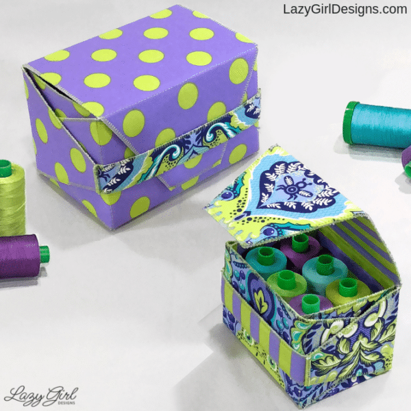 DIY gift boxes to sew