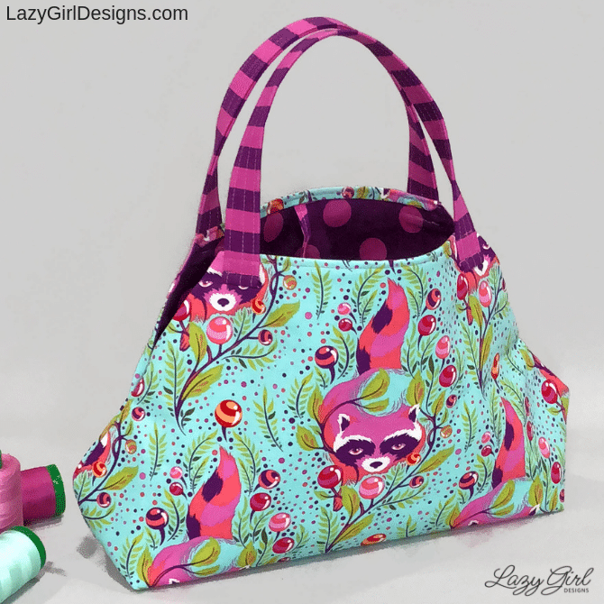 Molly Maker Bag small soft sided activity bag sewing pattern.